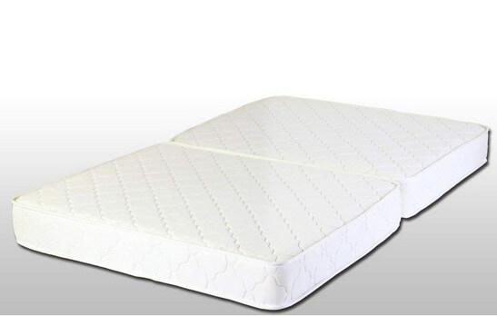 2つ折りタイプのベッドマットレス
