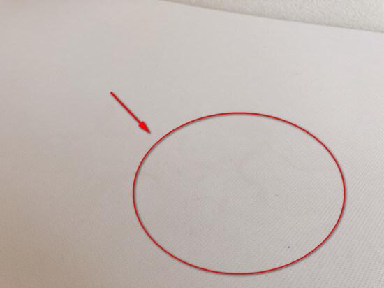 トゥルースリーパーの専用カバーを4ヵ月使用した状況2