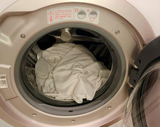 トゥルースリーパーの専用カバーを洗濯してみた。
